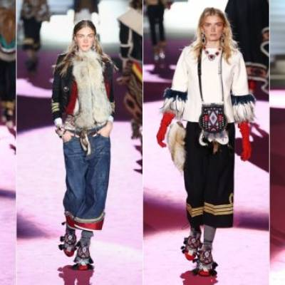 """Petition: Request Dsquared to Donate profits from offensive FW15 """"DSqu*w"""" line to an organization that supports Native women's rights in Canada."""